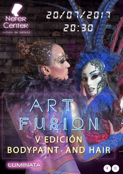 V EDICION BODY PAINT AND HAIR ART FUSSION
